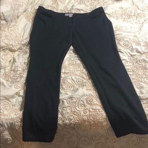 Skinny jean stretch fit slacks